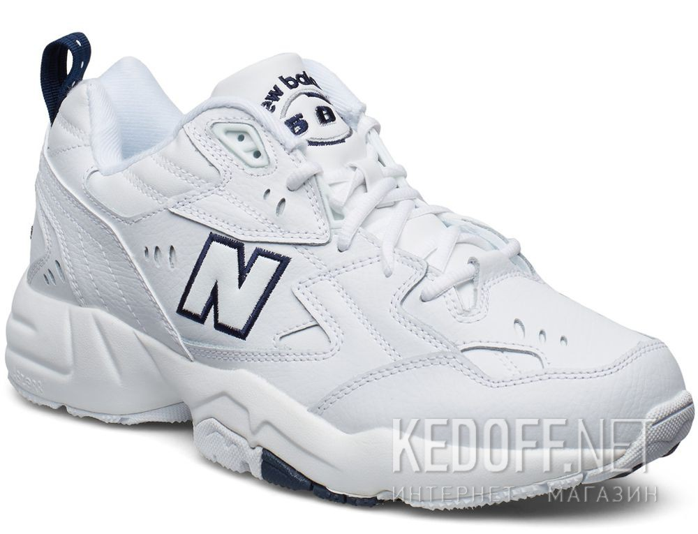 Купить Мужские кроссовки New Balance MX608WT White Leather