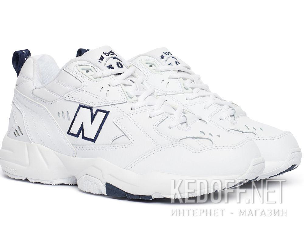 Мужские кроссовки New Balance MX608WT White Leather купить Украина