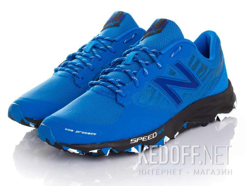 Мужские кроссовки New Balance Trail MT690RE2   (синий) купить Киев