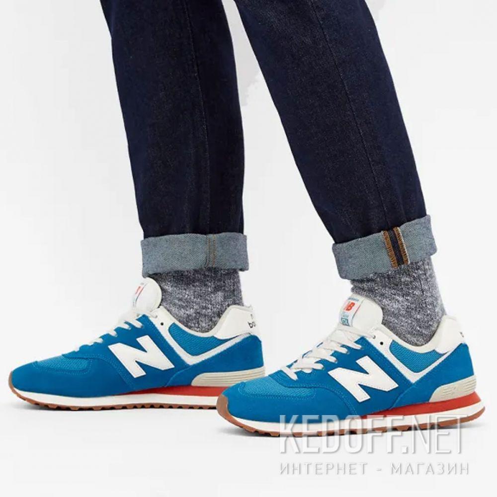 Мужские кроссовки New Balance Vintage Brights ML574HC2 все размеры