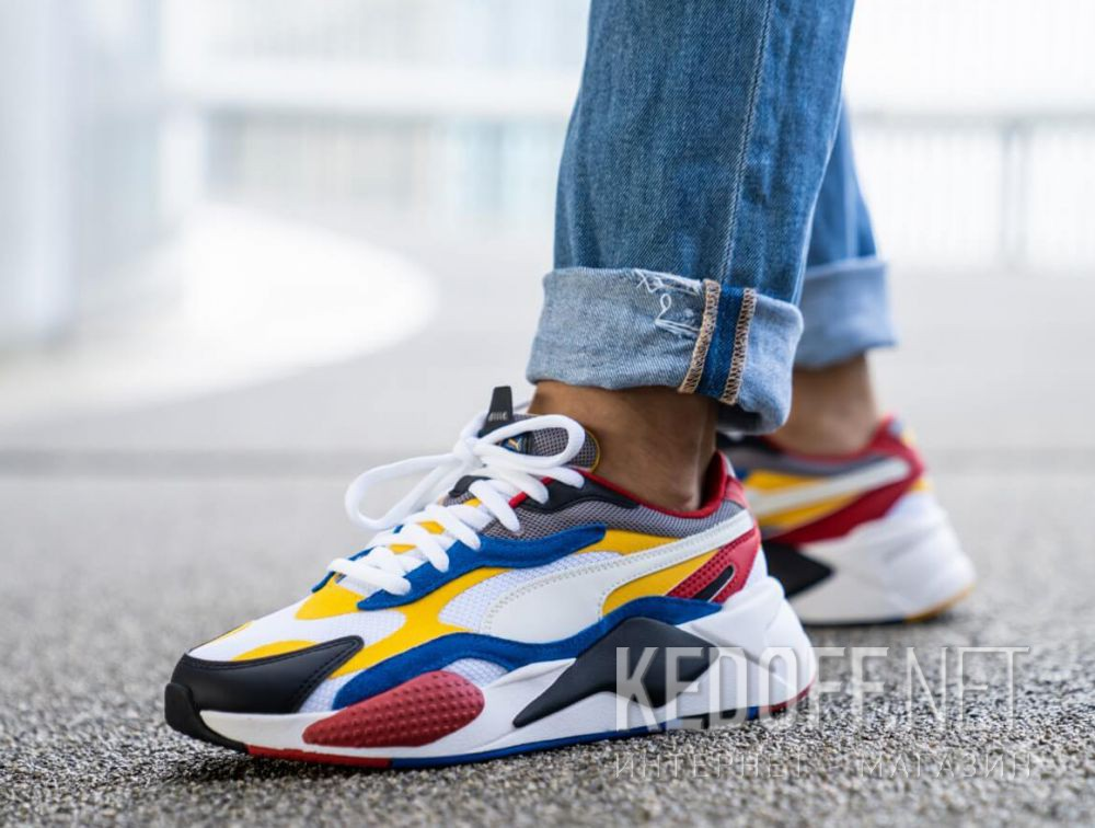 Men's sportshoes Puma Rs-X3 Puzzle 371570 04 все размеры