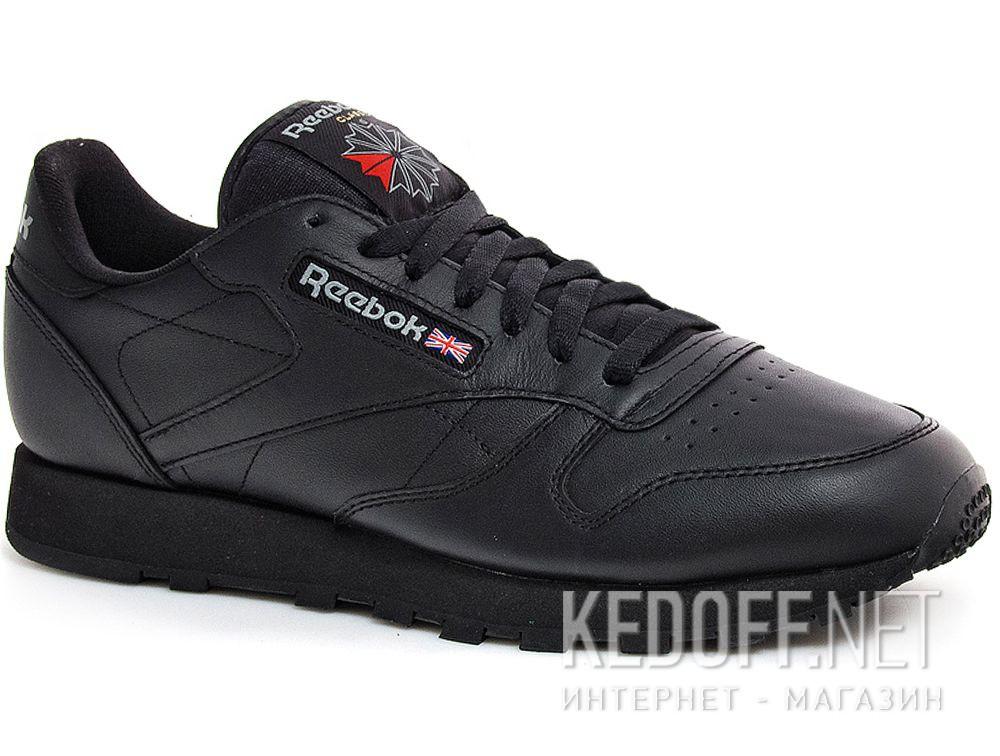 Купить Мужские кроссовки Reebok Classic Leather 2267   (чёрный)