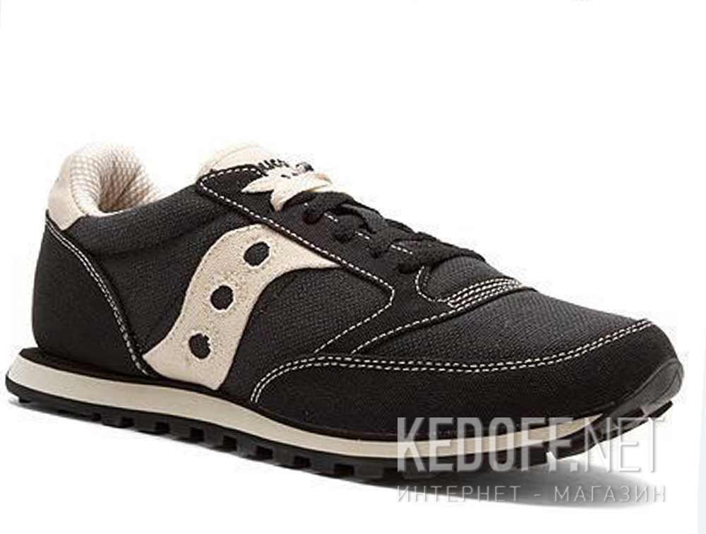 Купить Мужские кроссовки Saucony Jazz Low Pro Vegan 2887-4   (чёрный)