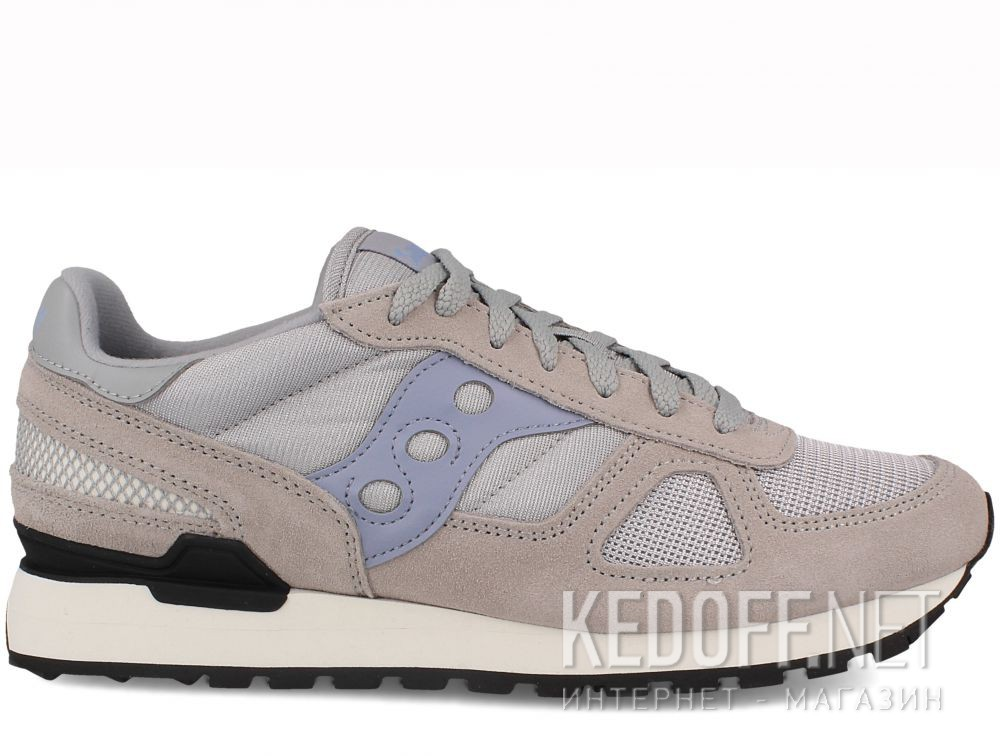 SAUCONY SHADOW ORIGINAL Grey Blue White Mens Retro Running Sneakers S2108 683