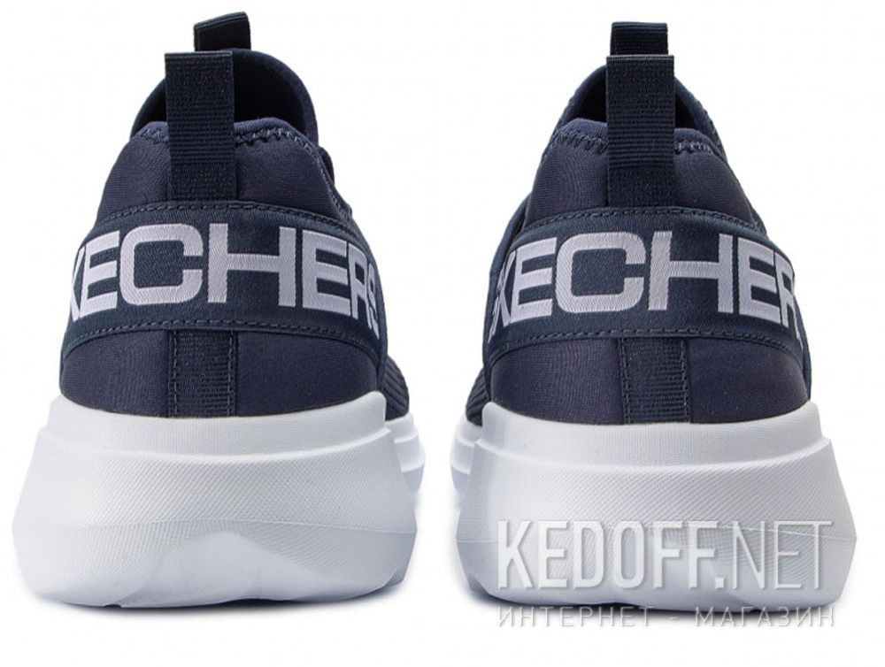 Цены на Мужские кроссовки Skechers Valor 55103NVY Тёмносиняя сетка