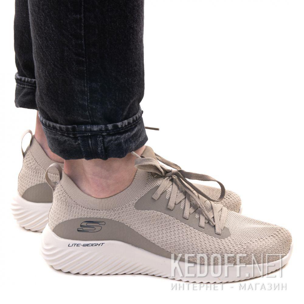 Мужские кроссовки Skechers Bounder Mirkle 52595 TPE Телесный описание