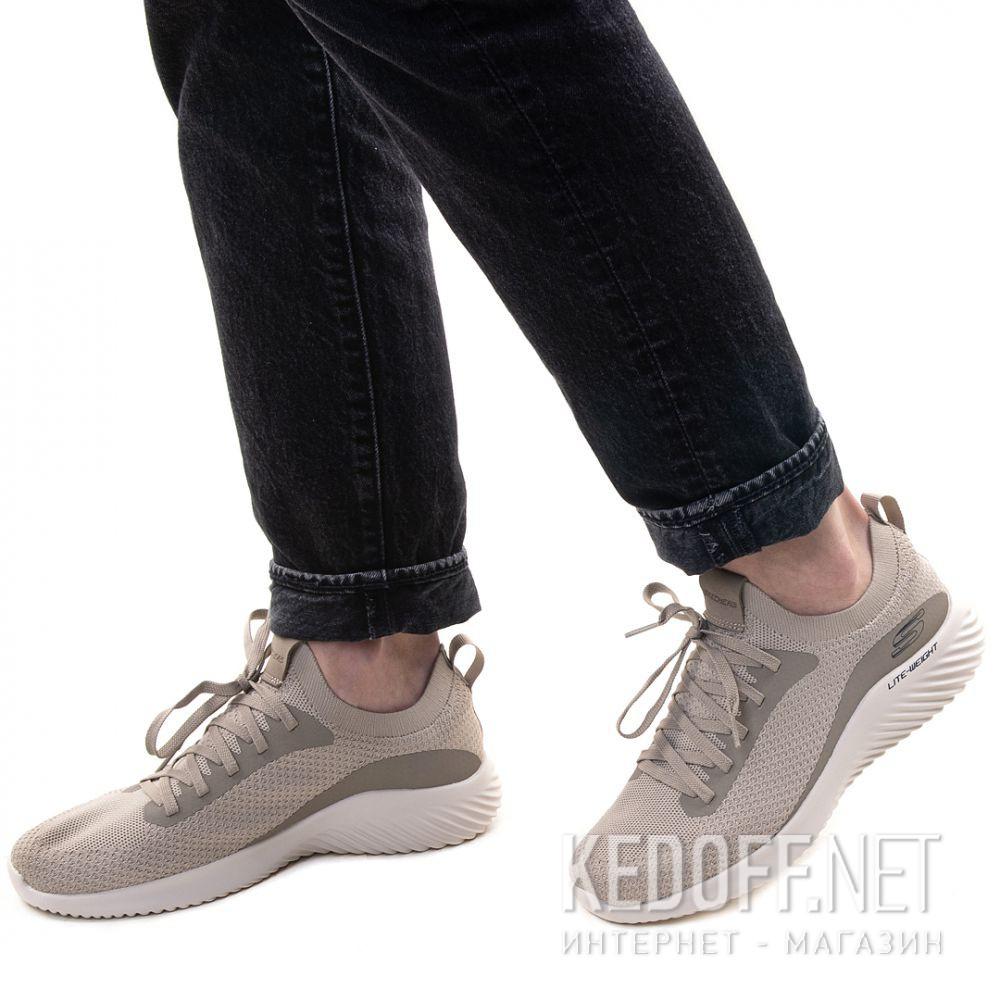 Цены на Мужские кроссовки Skechers Bounder Mirkle 52595 TPE Телесный