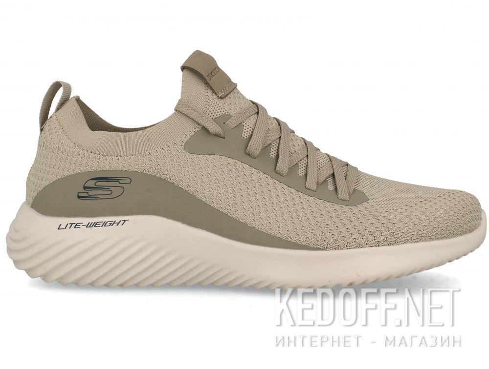 Мужские кроссовки Skechers Bounder Mirkle 52595 TPE Телесный купить Украина