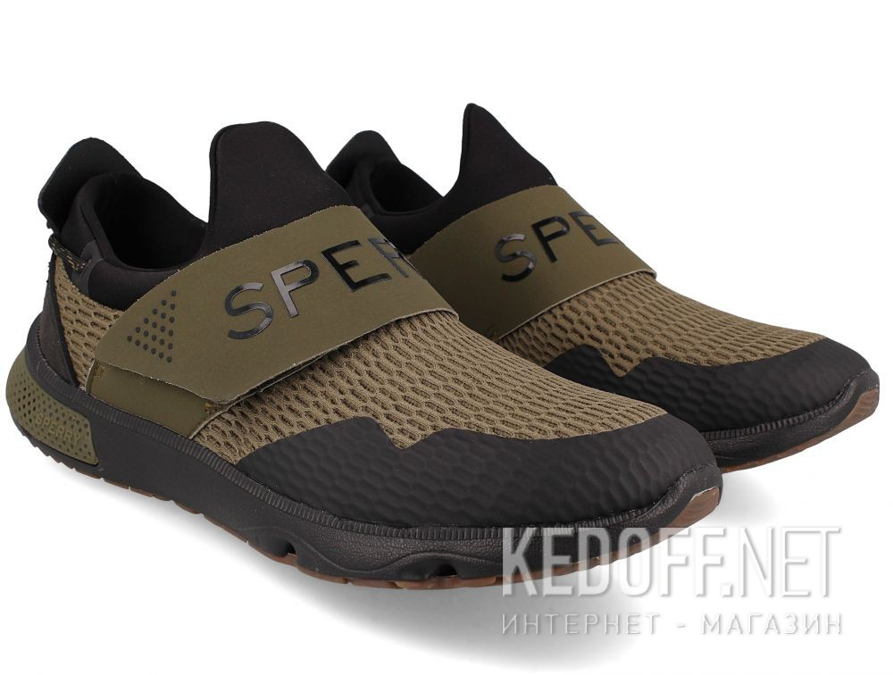 Мужские кроссовки  Sperry 7 Seas Slip On SP-17687 купить Украина