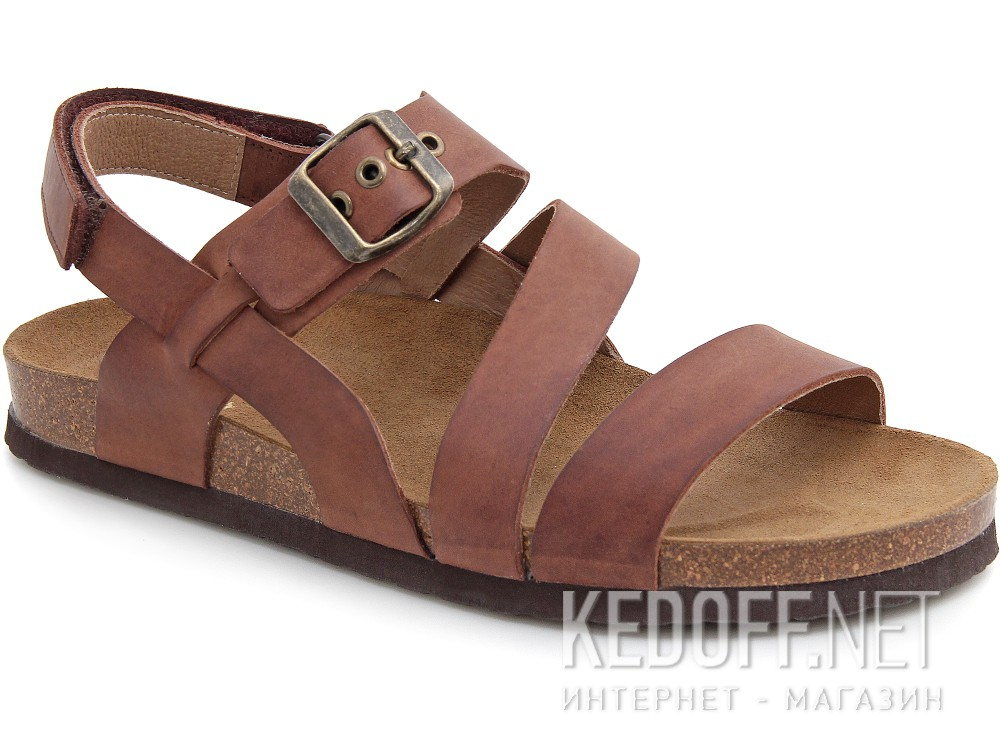 Купить Мужские сандалии Las Espadrillas 06-0187-002   (коричневый)