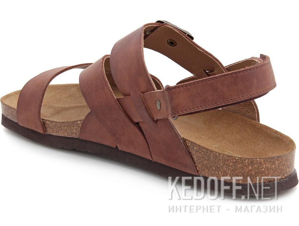 Мужские сандалии Las Espadrillas 06-0187-002   (коричневый) купить Украина