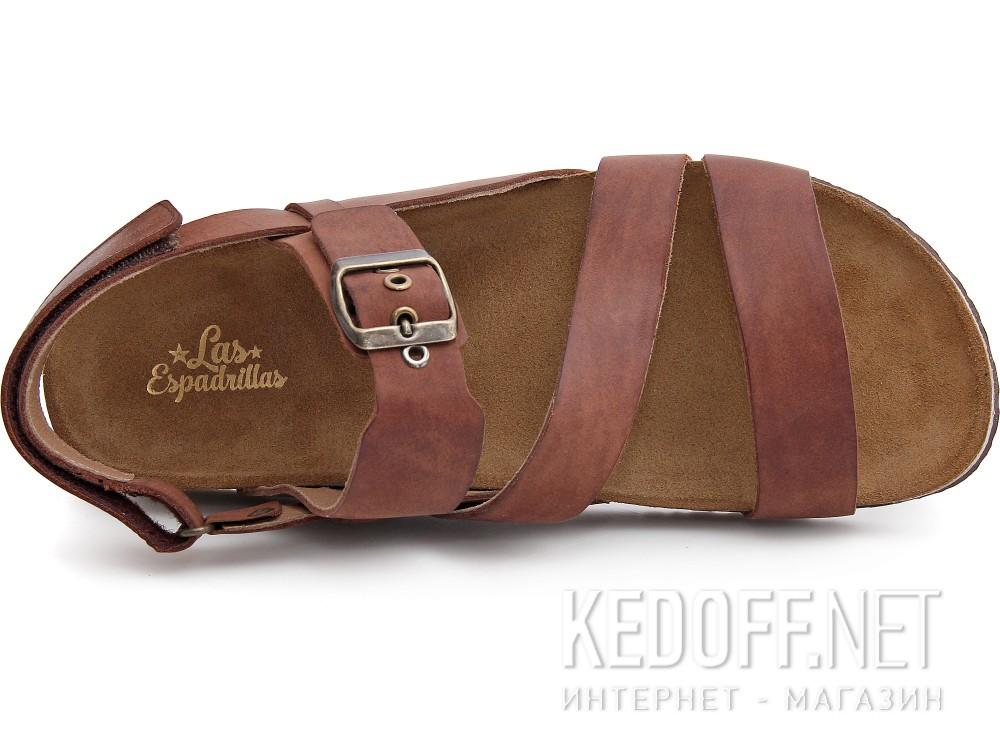 Оригинальные Мужские сандалии Las Espadrillas 06-0187-002   (коричневый)