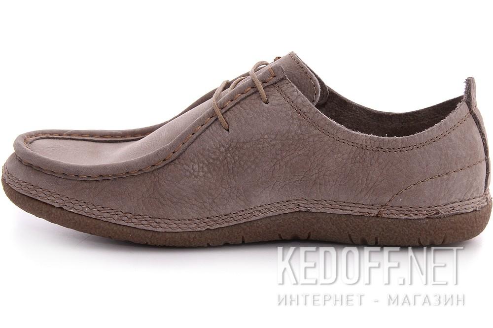 Comfortable men's moccasins Las Espadrillas 521-18 Nubuck