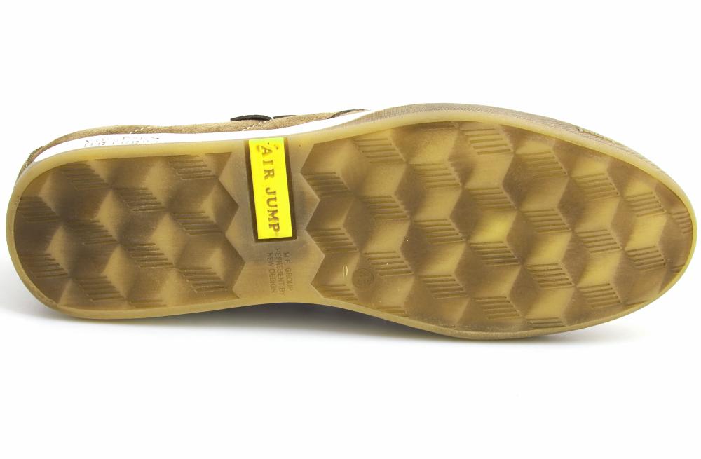 Мужские летние туфли Forester 1632-380 Беж Замш-R