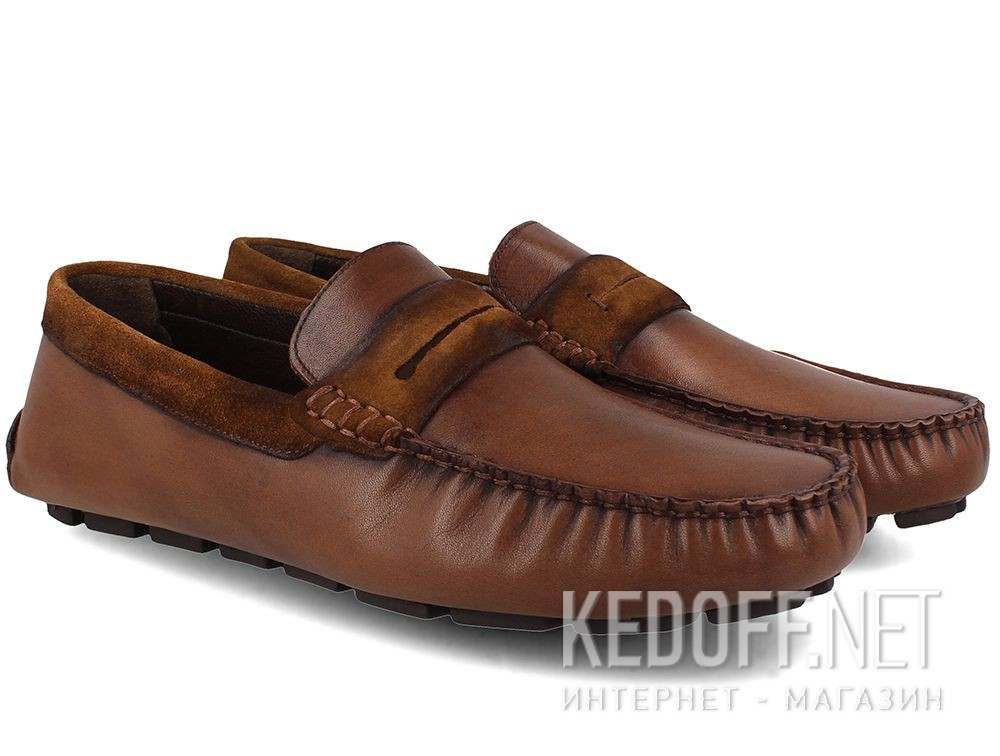 Forester men's loafers Brown Tods 3525-45 купить Украина