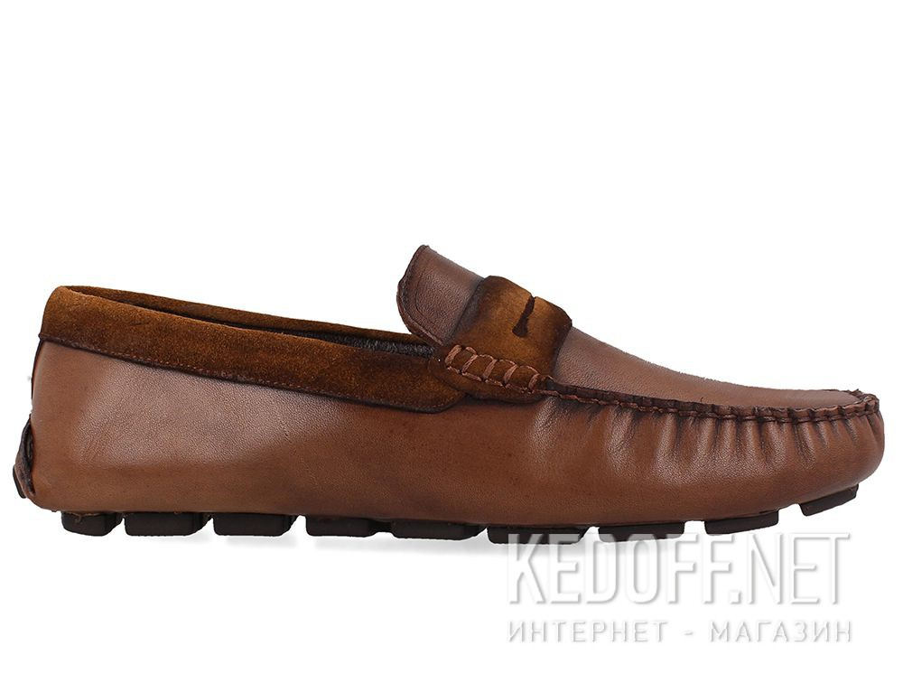 Forester men's loafers Brown Tods 3525-45 купить Киев