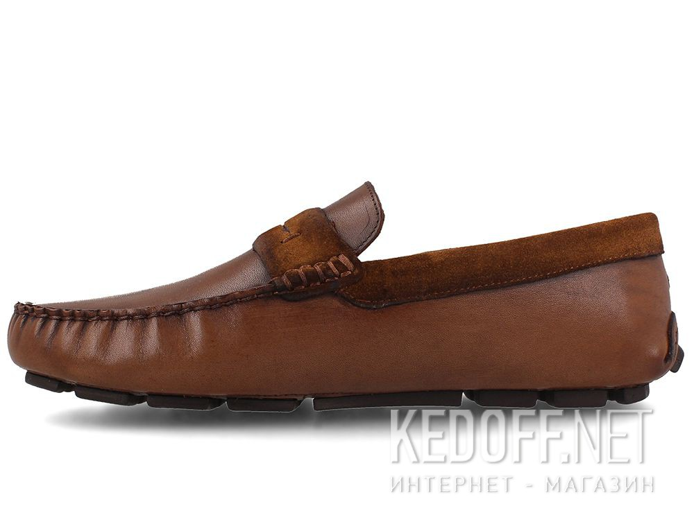 Оригинальные Forester men's loafers Brown Tods 3525-45