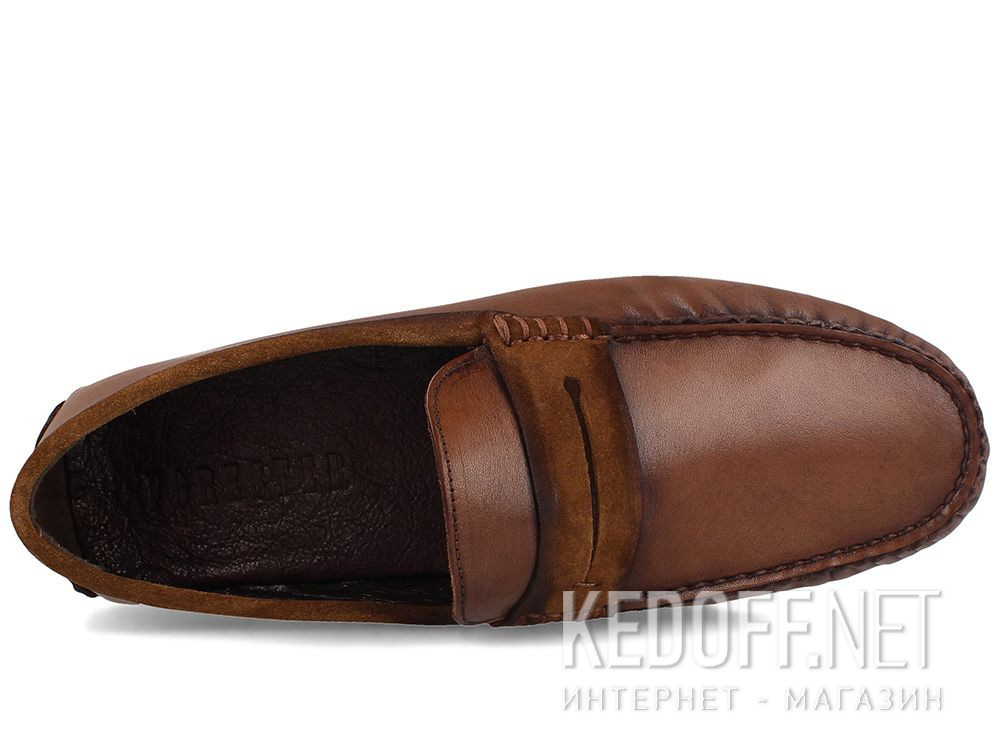 Forester men's loafers Brown Tods 3525-45 описание