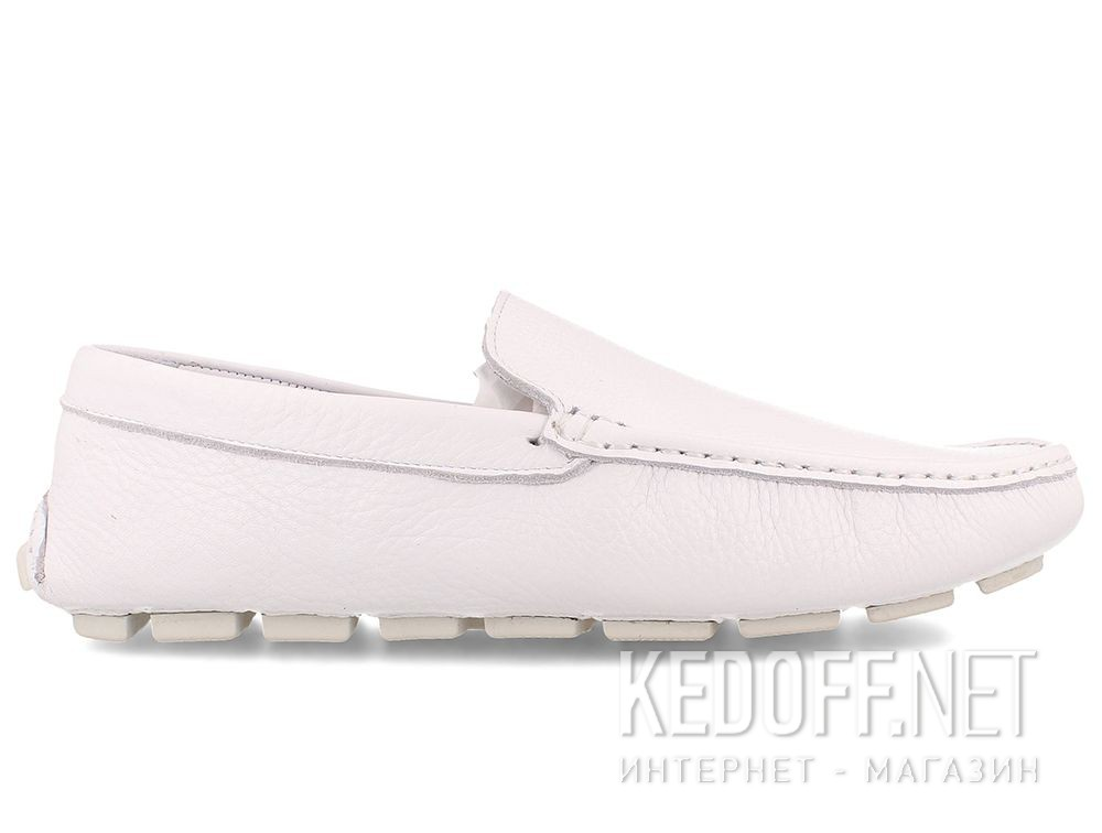 Mens Tods moccasins White Forester 3566-13 купить Киев