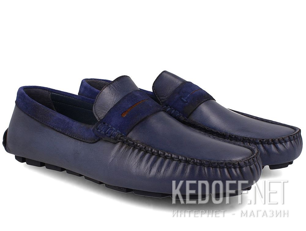 Mens moccasin Tods Navy Forester 3525-42 купить Украина