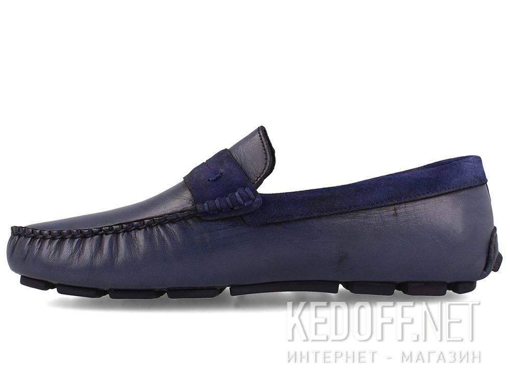 Оригинальные Mens moccasin Tods Navy Forester 3525-42