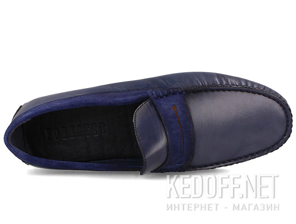 Mens moccasin Tods Navy Forester 3525-42 описание