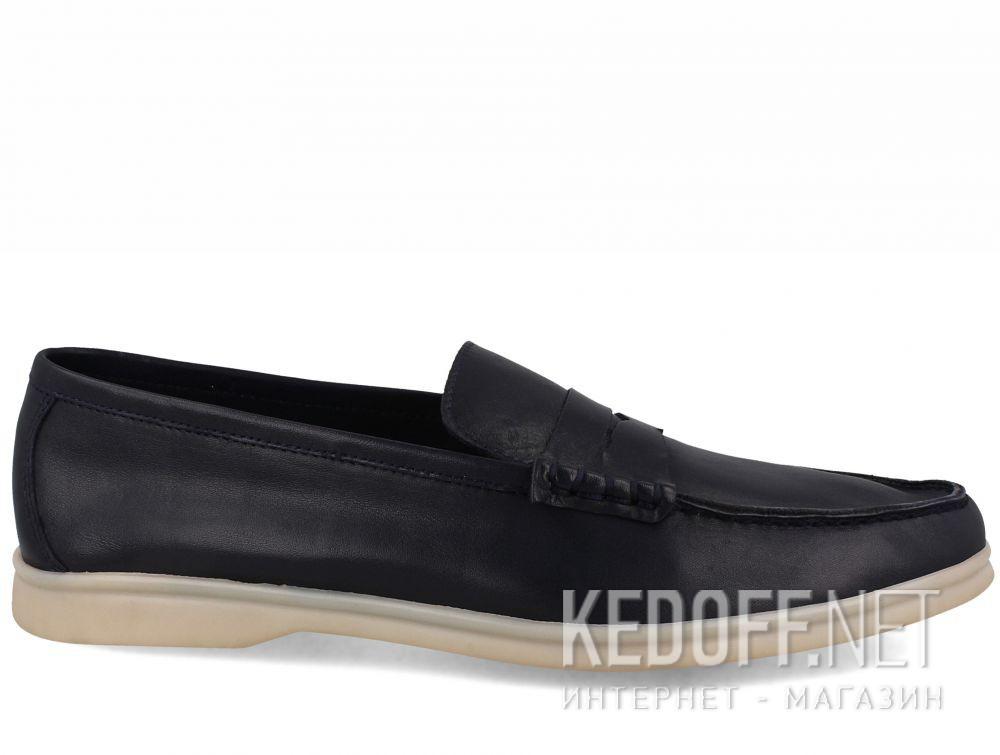Мужские мокасины Forester Alicante 3681-89 Navy Leather купить Киев