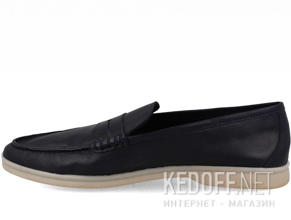 Оригинальные Мужские мокасины Forester Alicante 3681-89 Navy Leather