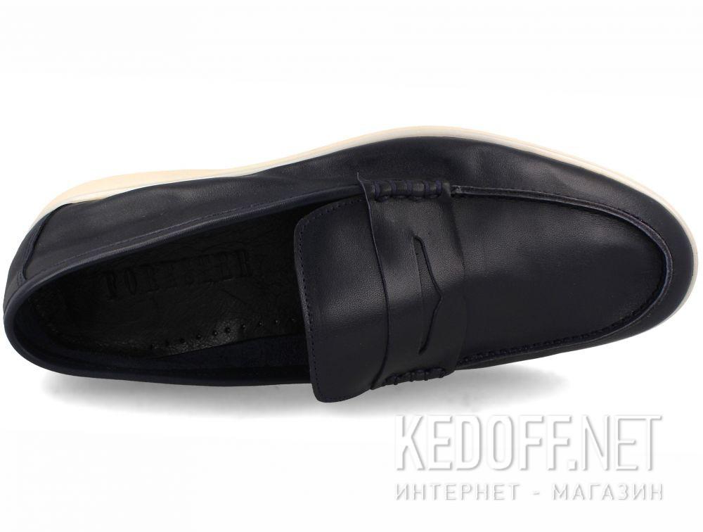 Цены на Мужские мокасины Forester Alicante 3681-89 Navy Leather