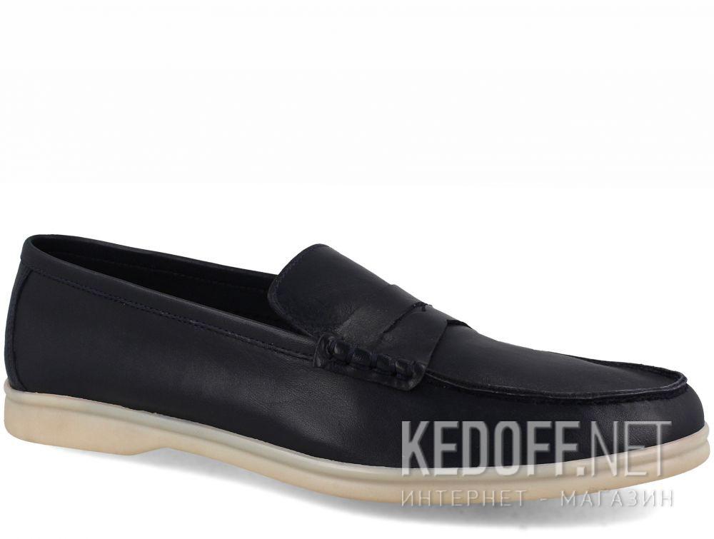 Купить Мужские мокасины Forester Alicante 3681-89 Navy Leather