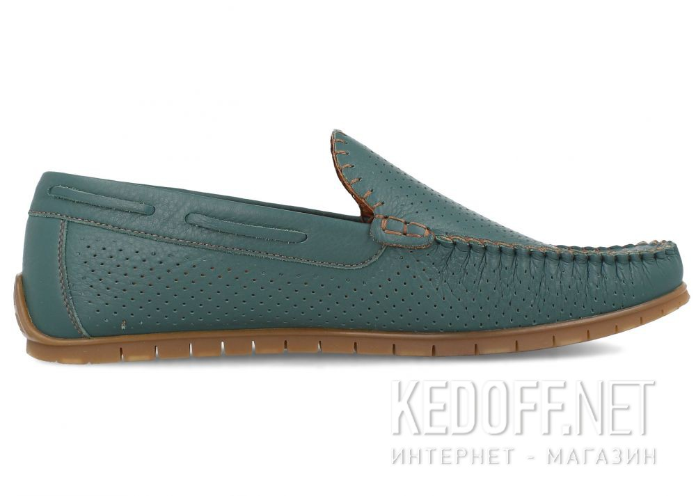 Чоловічі мокасини Forester 7512-6 купити Україна