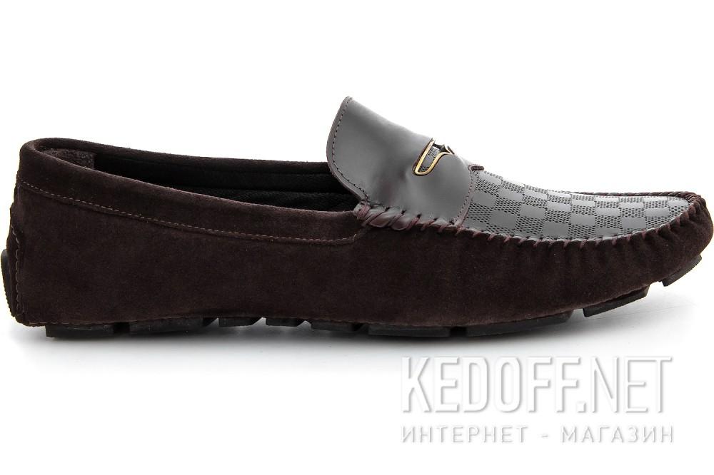 Оригинальные Мужские мокасины Forester 8057-45   (тёмно-коричневый)