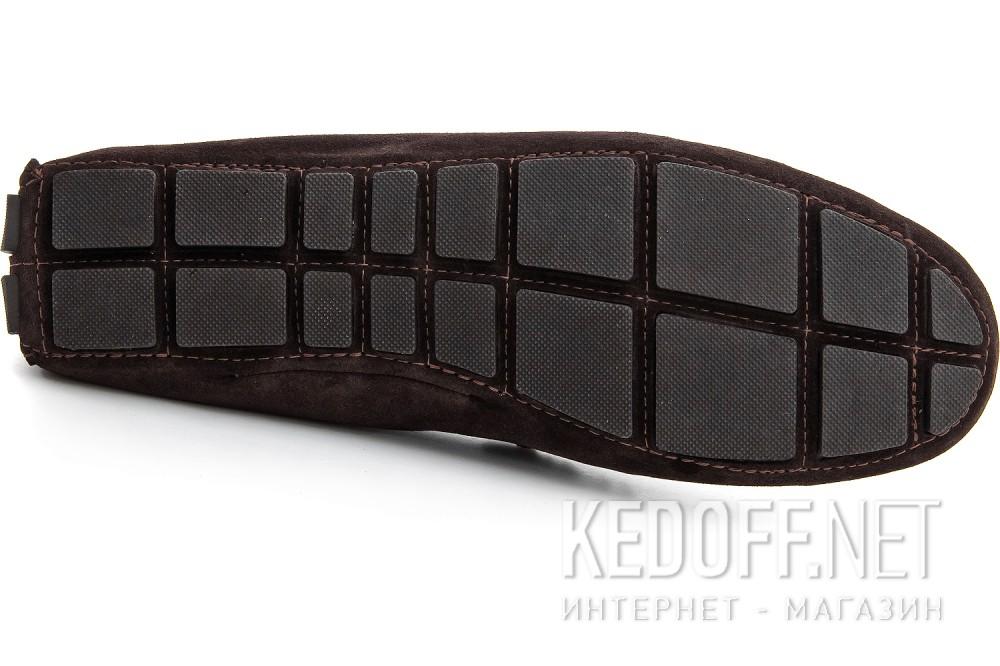 Чоловічі мокасини Forester 8057-45 Темно-коричневі