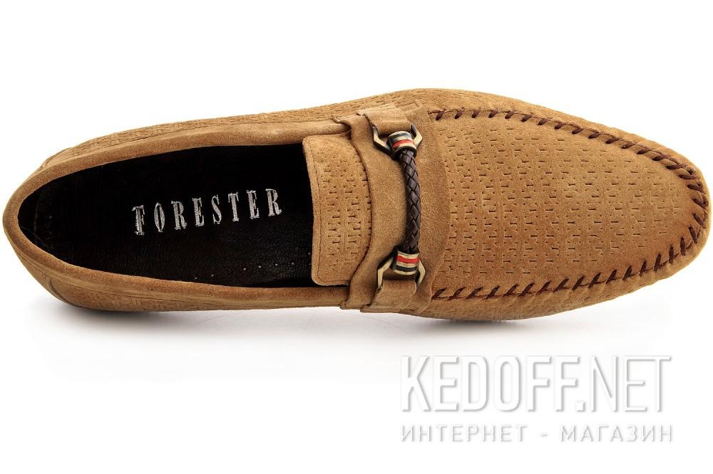 Men's moccasins Suede Forester 8124-18 Beiige