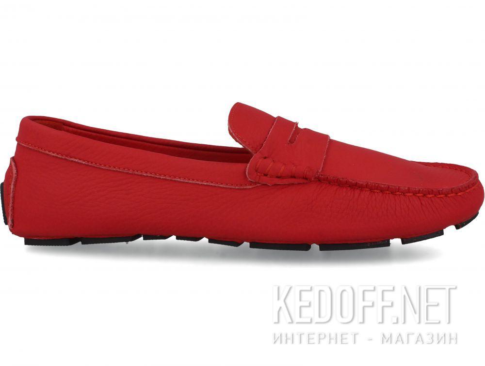 Мужские мокасины Forester Red Leather Tods 5103-47 купить Украина