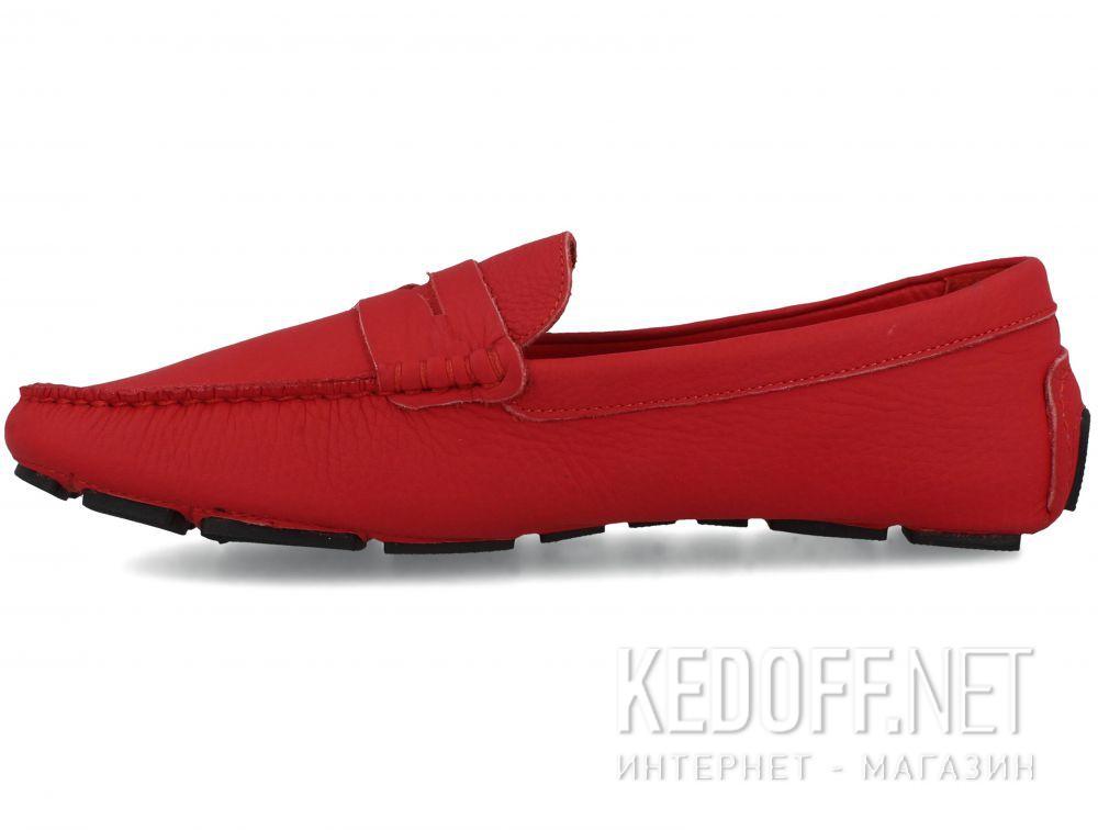 Мужские мокасины Forester RED Leather Tods 5103-47 купить Киев