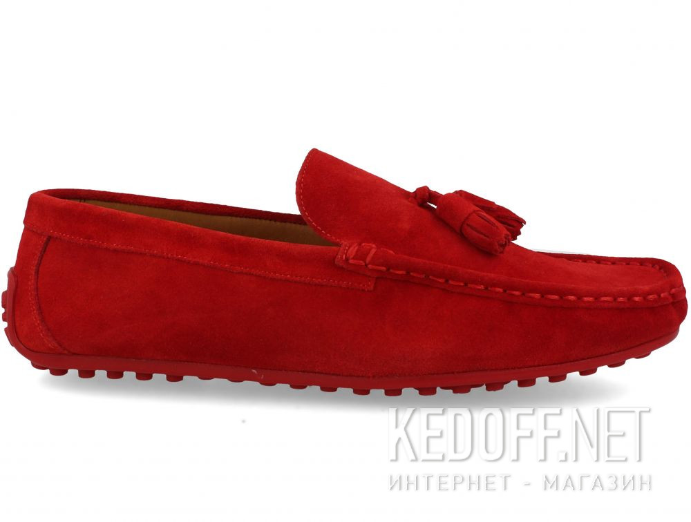 Мужские мокасины Forester Tods Red Horween  3544-47 купить Украина