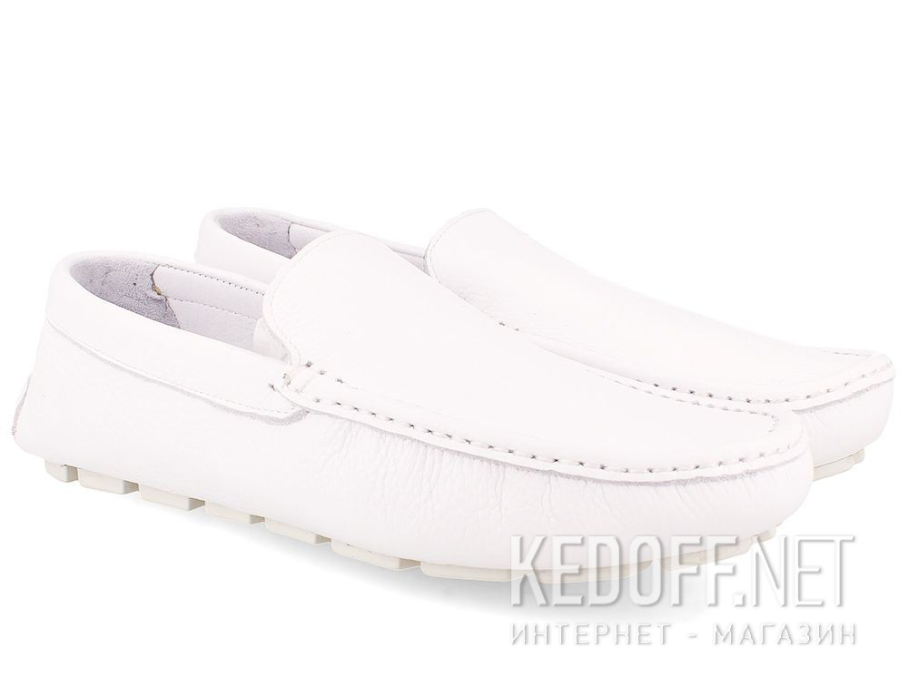 Mens Tods moccasins White Forester 3566-13 купить Украина