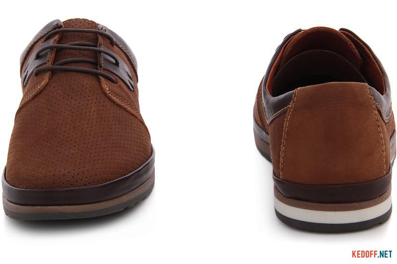 Men's loafers Greyder 60130-74 Soft Brown Nubuc