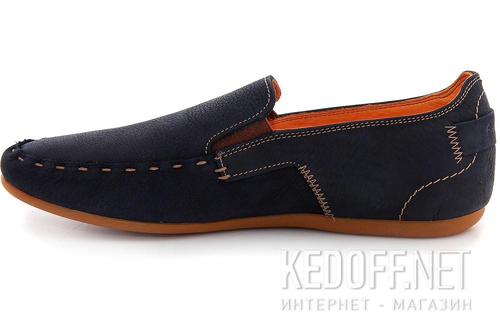 Мужские туфли Las Espadrillas 627-89   (тёмно-синий) купить Украина