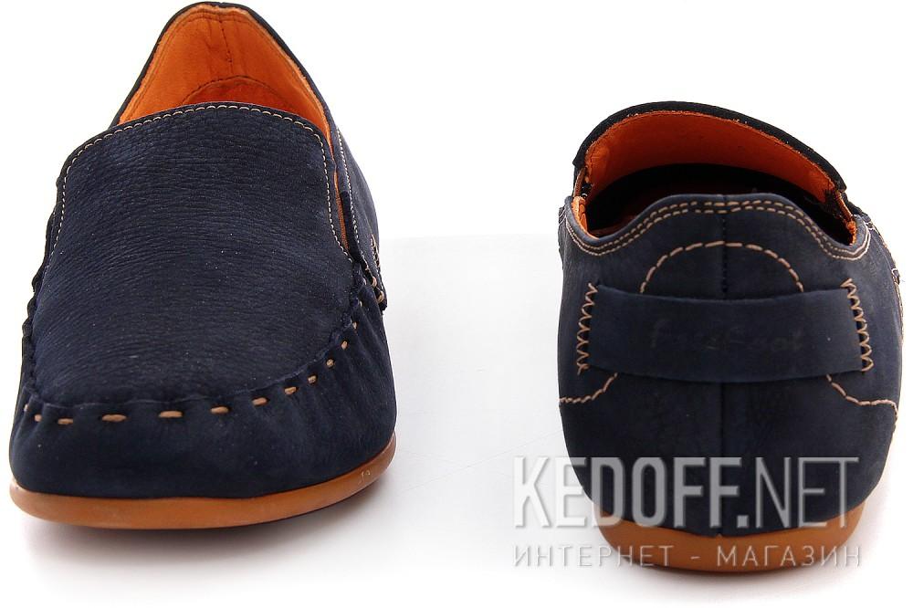 Мужские туфли Las Espadrillas 627-89   (тёмно-синий) купить Киев