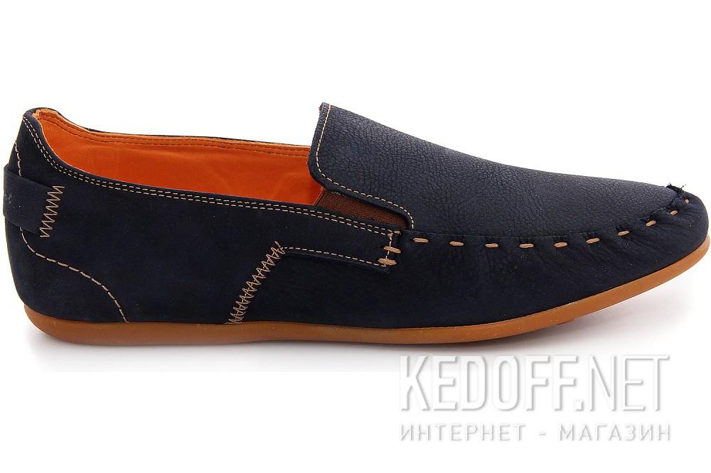 Оригинальные Мужские туфли Las Espadrillas 627-89   (тёмно-синий)