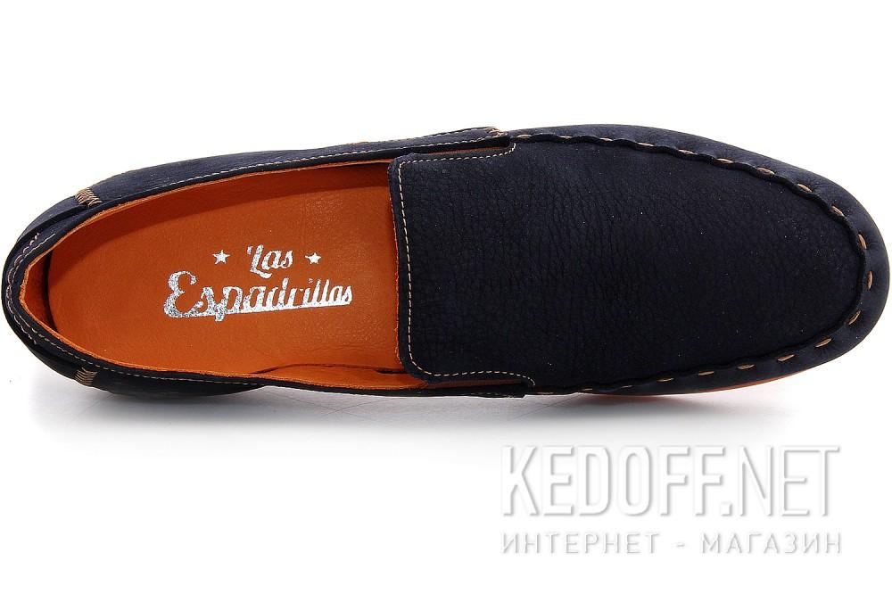 Цены на Мужские туфли Las Espadrillas 627-89   (тёмно-синий)