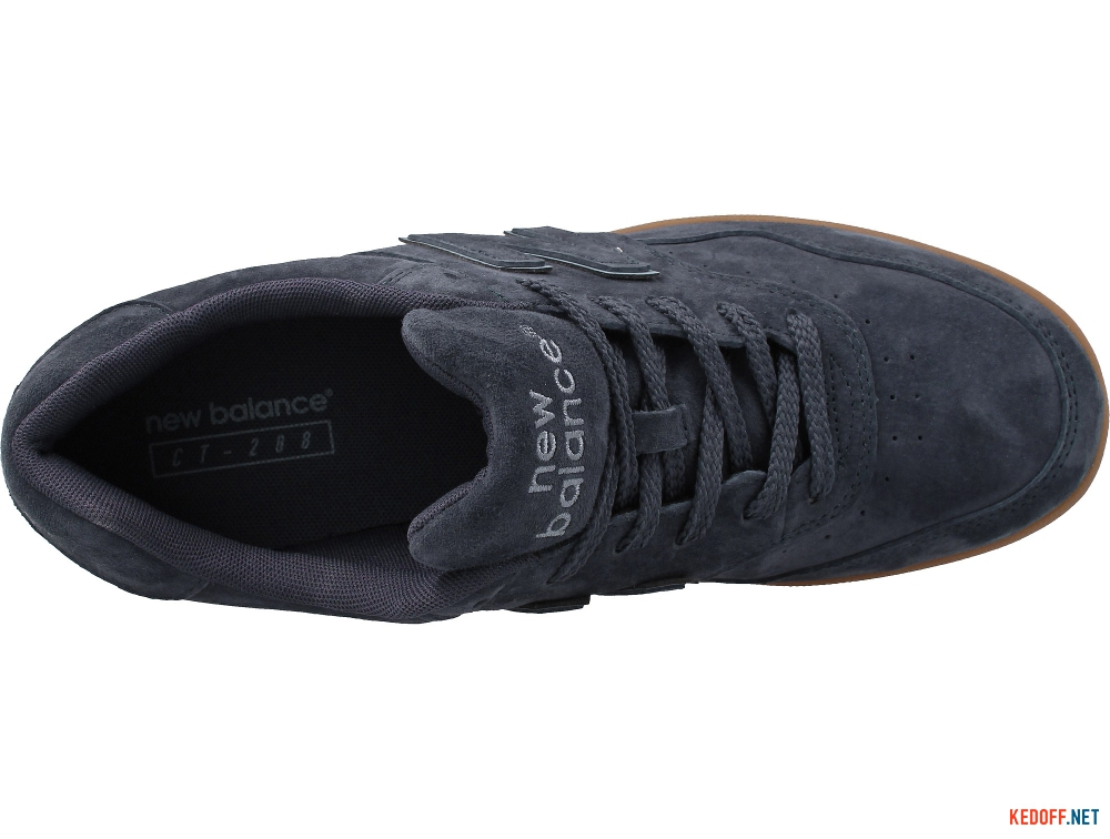 Mens sneakers New Balance Navy Suede Ct288n