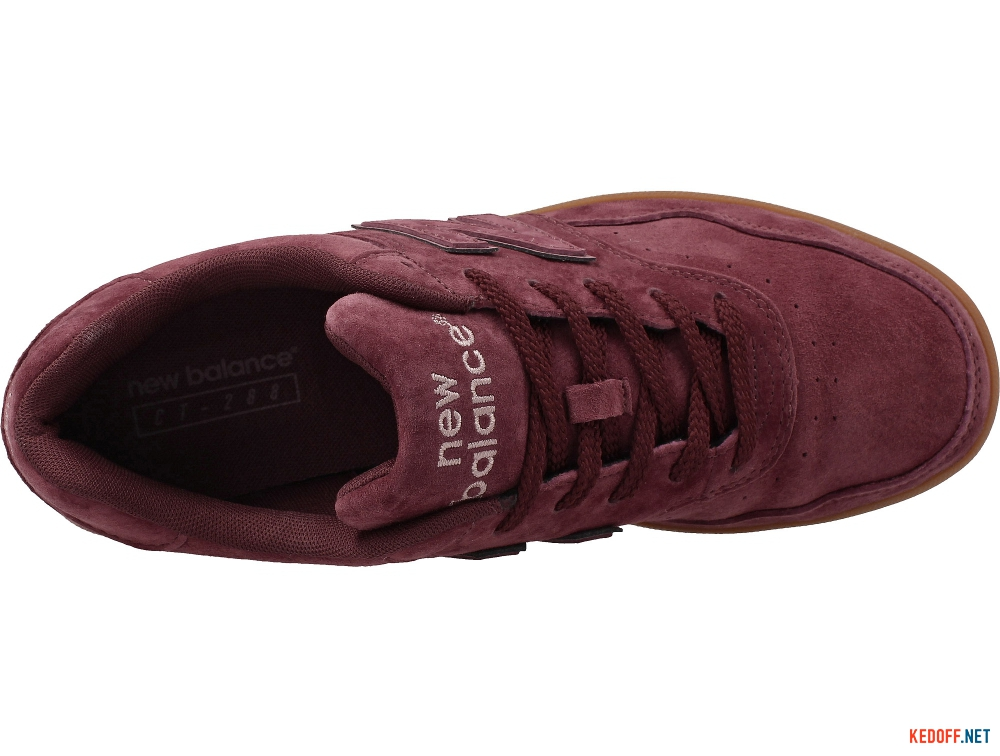 Mens sneakers New Balance Ct288r Marsala Suede