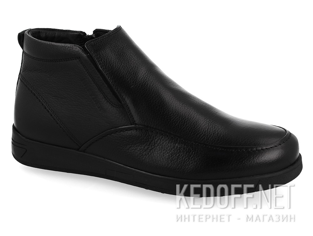 Men's boots Greyder Komfort 60493 Black Leather