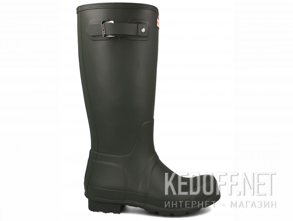 Чоловічі гумові чоботи Hunter Men's Original Tall MFT9000RMA DARK OLIVE купить Киев