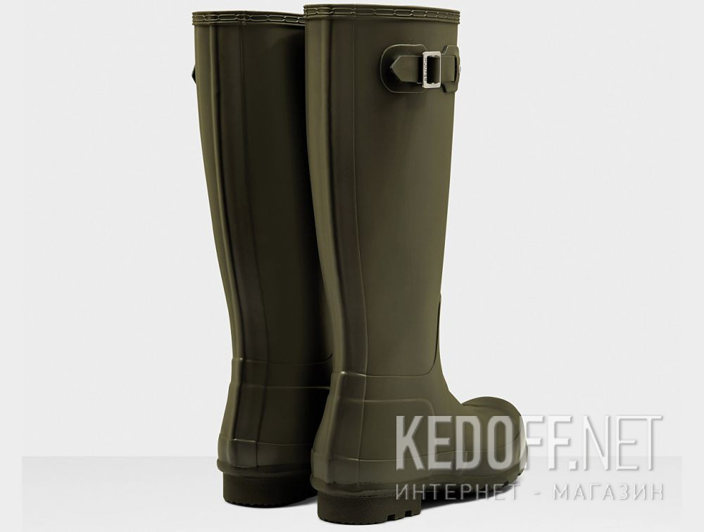 Цены на Чоловічі гумові чоботи Hunter Men's Original Tall MFT9000RMA DARK OLIVE