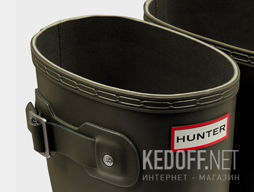 Доставка Мужские резиновые сапоги Hunter Men's Original Tall MFT9000RMA DARK OLIVE
