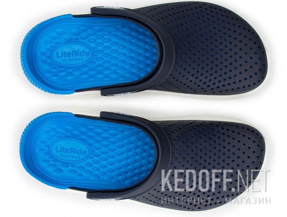 Мужские сандалии Crocs Literide Clog 204592- 462 Navy/White купить Украина